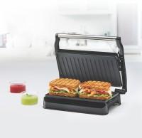 BOROSIL Meta Prime Grill Sandwich Maker Grill(Silver, Black)