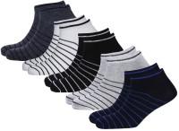 Broen Men & Women Solid Ankle Length(Pack of 5)