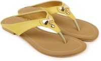 Shezone Women Yellow Flats