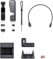 dji Osmo Pocket2 with Expansion Kit Sports and Action Camera(Black, 64 MP)