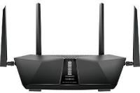 NETGEAR NightHawk AX6 6-Stream AX5400 WiFi 6 Router-RAX50-100EUS 5400 Mbps Wireless Router(Black, Dual Band)