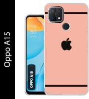 Case Club Back Cover for Oppo A15(Pink, Grip Case, Silicon)