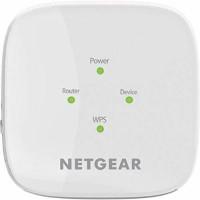 NETGEAR AC1200 Dual Band WiFi Range Extender-EX6110-100INS 1200 Mbps WiFi Range Extender(White, Dual Band)
