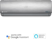 MOTOROLA 1.5 Ton 3 Star Split Dual Inverter Smart AC with Wi-fi Connect  - Silver(MOTO153SIASMT, Copper Condenser)