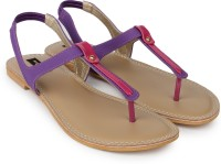 Shezone Women Purple Flats