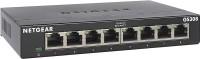 NETGEAR 8-Port Gigabit Ethernet Unmanaged Switch (GS308) - Home Network Hub, Office Ethernet Splitter, Plug-and-Play, Silent Operation, Desktop or Wall Mount Network Switch(Black)
