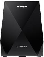 NETGEAR Nighthawk X6 AC2200 Tri-Band WiFi Mesh Extender, with 2 LAN ports-EX7700-100PES 2200 Mbps WiFi Range Extender(Black, Tri Band)