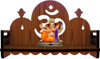 ETHNIC WALL ART Engineered Wood Home Temple(Height: 16, Pre-assembled)
