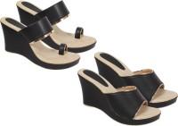 OSNIA Women Black Heels