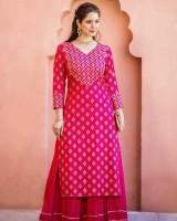Shrivani Women Kurta and Skirt Set