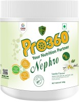 PRO360 Nephro HP Nutritional Protein Dietary for Kidney/Renal Health Care (Dialysis) Protein Blends(400 g, Vanilla)