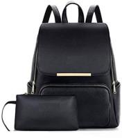 REYAZ JAIBUN GIRLS PU Leather Backpack School Bag Student Backpack Women Travel bag collage bag 10 L Backpack 10 L Backpack(Blue)