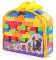 CATALYST High Quality Building Block Set, DIY Interlock Construction Design Model Maker Block Set Educational Toy for Kids Educational Learning Toy for Kids Old Girls & Boys(Orange)