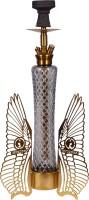 Cocoyaya Fly Series Sparrow Design Hookah Gold 26 inch Stainless Steel Hookah(Gold)