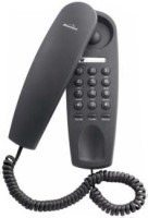 View Binatone Trend 1 Corded Telephone(Black) Home Appliances Price Online(Binatone)