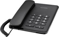 View Alcatel T20 Corded Landline Phone(Black) Home Appliances Price Online(Alcatel)