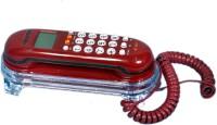 Talktel F-3 Rd Corded Landline Phone(Red)