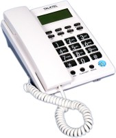 Talktel F-6 WH Corded Landline Phone(White)