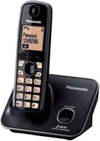 Panasonic TG 3711 Cordless Landline Phone(Black)