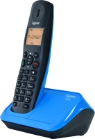 View Gigaset A450 Cordless Landline Phone(Black & Blue) Home Appliances Price Online(Gigaset)