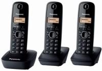 Panasonic PA-KX-TG1613 Cordless Landline Phone(Black)