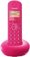 Panasonic PA-KX-TG210 Cordless Landline Phone(Pink)