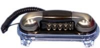 Talktel F-2 BR Corded Landline Phone(Bronze)