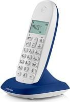Motorola C1001LBI Cordless Landline Phone(Blue)