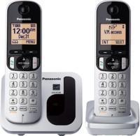 Panasonic KX-TGC212 Cordless Landline Phone(Silver, Black, White)