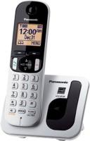 Panasonic PA-KX-TGC210S Cordless Landline Phone(White)