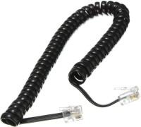 Revolution spring wire Corded Landline Phone(Black)