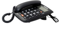 Talktel f-44 BK Corded Landline Phone(Black)