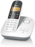 View Gigaset A495 Cordless Landline Phone with Answering Machine(White) Home Appliances Price Online(Gigaset)