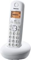 Panasonic KX-TG210 Cordless Landline Phone(White)