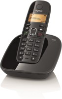 View Gigaset A490 Cordless Landline Phone(Black) Home Appliances Price Online(Gigaset)