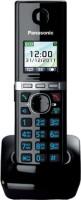Panasonic PA-KXTG8051 Cordless Landline Phone with Answering Machine(Black)