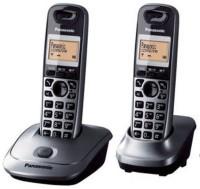 Panasonic KX-TG3552SXW Cordless Landline Phone(Grey & Black)