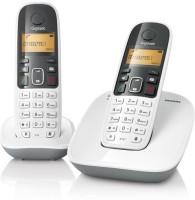 Gigaset A490 Duo Cordless Landline Phone(White)