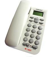 Siddh Present Orientel Jumbo Lcd Kx-T1555 Caller Id Corded Landline Phone(White)