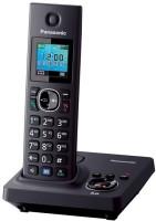 Panasonic KX-TG7861 Cordless Landline Phone(Black)