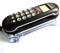 Siddh Present Orientel Jumbo Lcd Cid Back Light Kx-T666 Corded Landline Phone(Black)