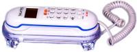 Talktel F-3 WH Corded Landline Phone(White)