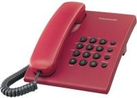 Panasonic KX-TS500MXRD Corded Landline Phone(Red)