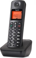 View Gigaset A100 Cordless Landline Phone(Black) Home Appliances Price Online(Gigaset)