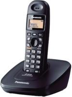 Panasonic KX-TG3611 Cordless Landline Phone(Black)