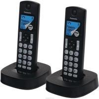 Panasonic KX-TGC312 Cordless Landline Phone(Black)