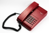 Beetel B11 Corded Landline Phone(Dark Red)