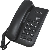 Portwin PW100 Corded Landline Phone(Black)