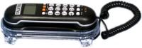 Talktel F-3 BL Corded Landline Phone(Black)