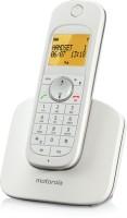 Motorola D1001I Cordless Landline Phone(White)